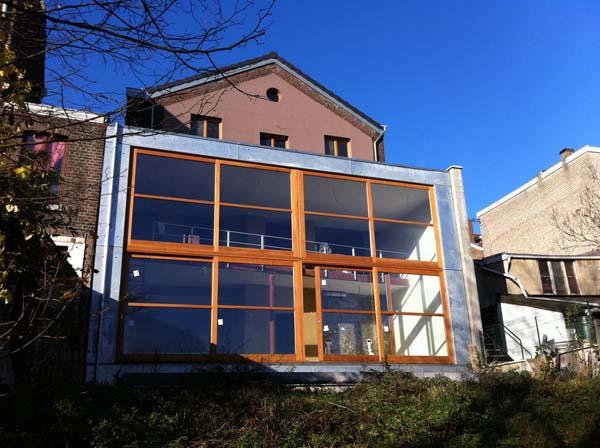 Terrasse suspendue liege for Annexe maison prix
