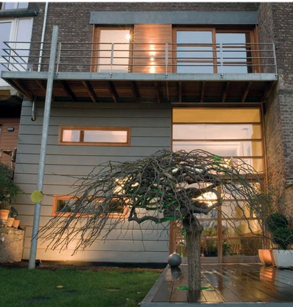 Architecte bertrand vanturenhout maison vanturenhout for Annexe maison prix