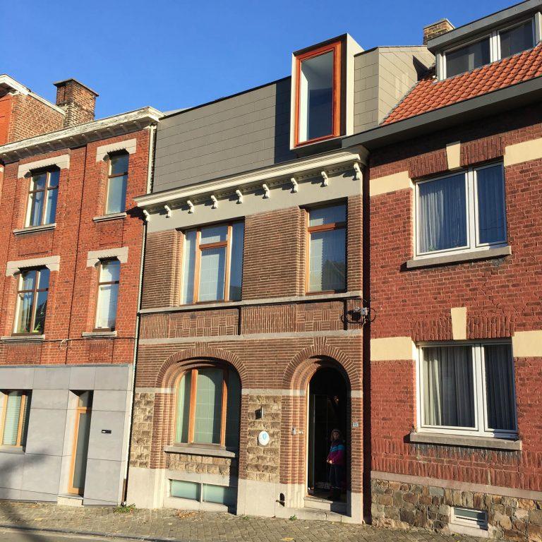 architecte bertrand vanturenhout transformations With maison brique et bois 4 architecte bertrand vanturenhout maison vanturenhout
